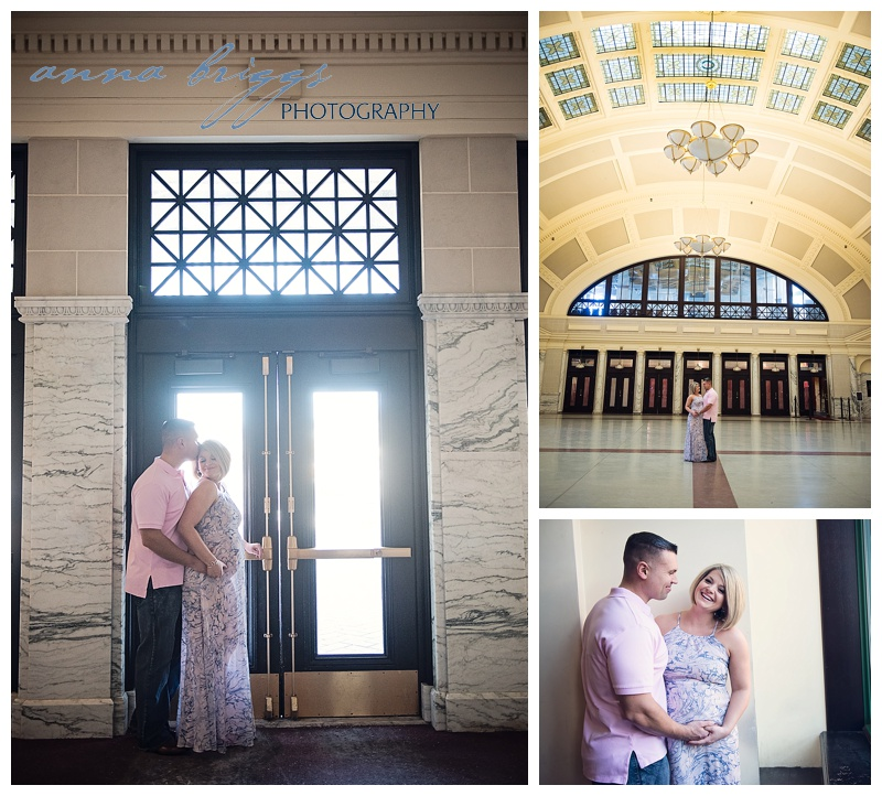 Union Station Maternity Session » Anna Briggs Photography